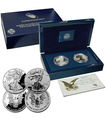 Silver Coins Package